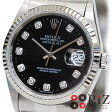 ROLEX DATEJUST Black/10P/Diamond デイトジャスト 16234G【中古】