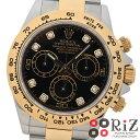 【中古】 ROLEX (ロレックス) コスモグラフ デイトナ 時計 自動巻き/メンズ Black ブラック 116503G S:極上品