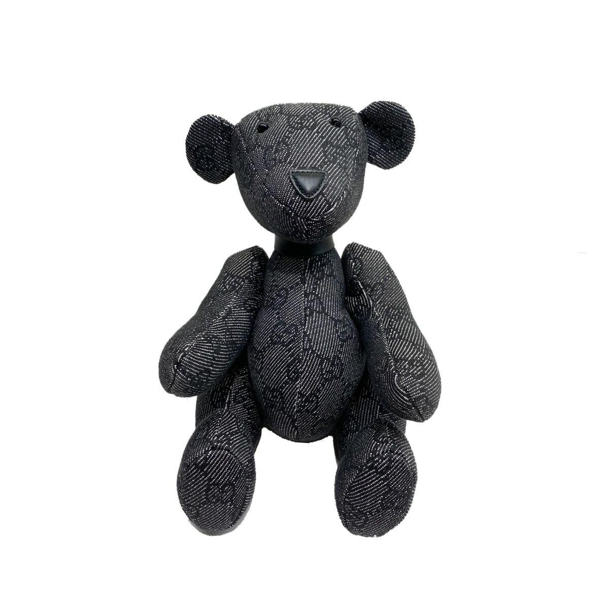 ぬいぐるみ・人形, ぬいぐるみ GUCCI GG GG-CANVAS Black used:A