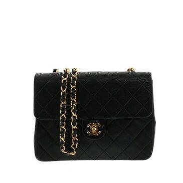 【セール中】シャネル ミニマトラッセ20 チェーンショルダーバッグ ブラック CHANEL Mini Matrasse 20 Shoulder Bag Black A69900