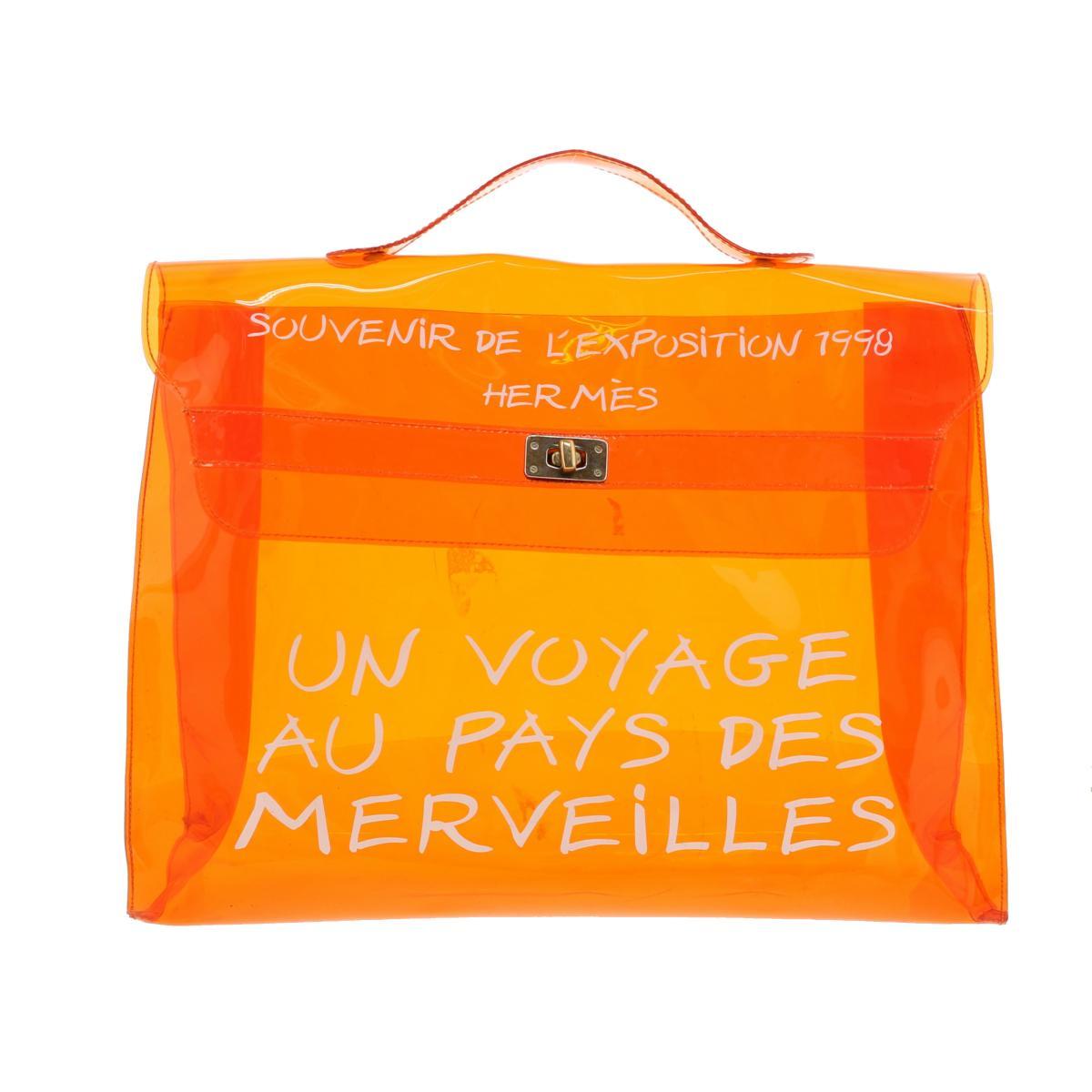 レディースバッグ, ハンドバッグ SALERI HERMES orange Orange