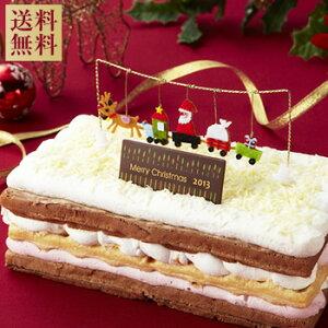 【クリスマスケーキ】ワッフルのかわいいクリスマスケーキ♪★超早割価格★ご予約受付中!ホワ...