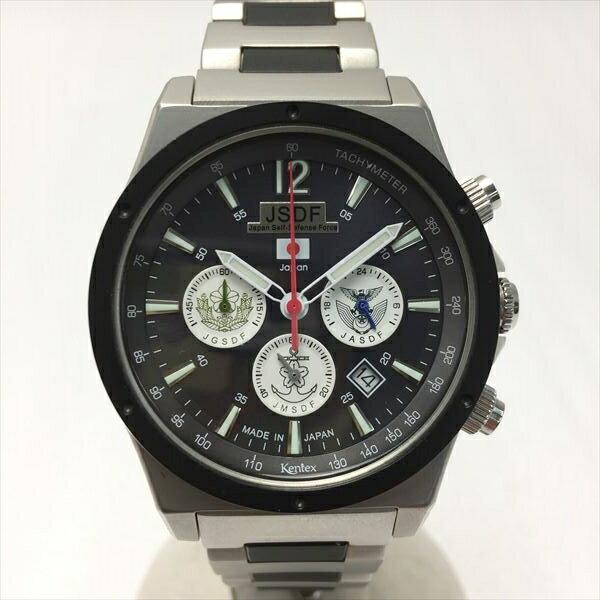 腕時計, メンズ腕時計 721 KENTEX S579M JSDF 1022 TRIFORCE