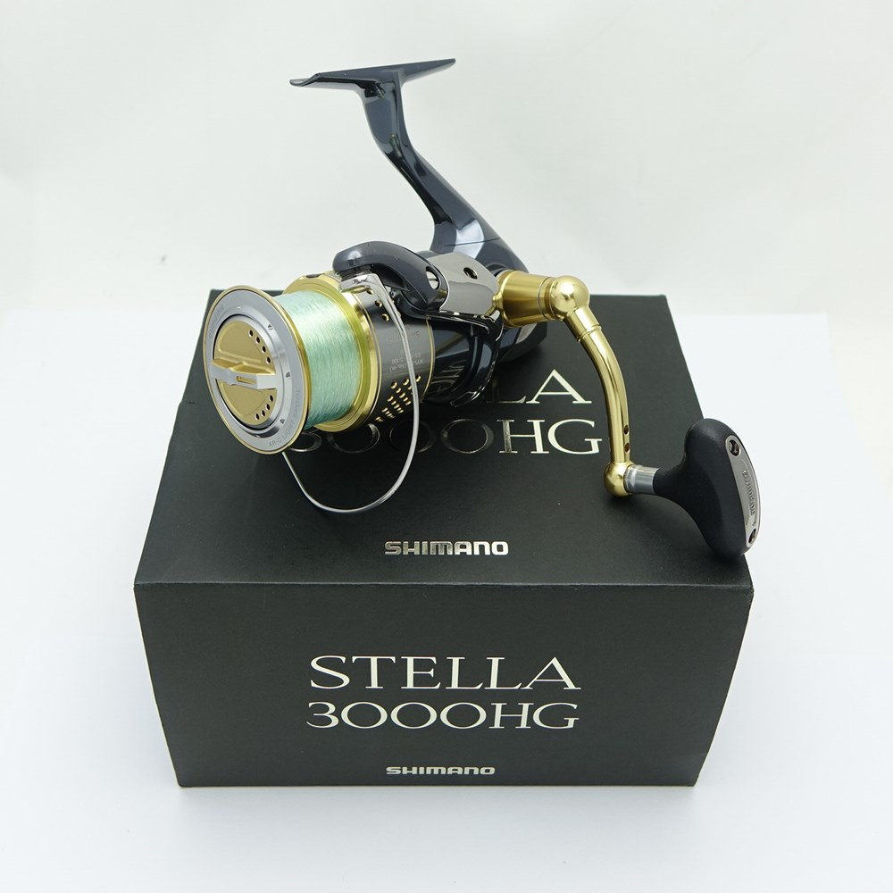 フィッシング, リール SHIMANO 10 STELLA3000HG 02435 B