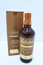 □□【中古】Ballantine's バランタイン ウイスキー シグネチャーオークエディション 21年 Sランク 未開栓