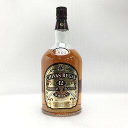 ☆☆【中古】CHIVAS REGAL シーバスリーガル 12年 4500ml 40度 ガロンボトル 大瓶 箱なし Nランク 未開栓