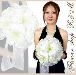 ■カサブランカブーケウェディング結婚式【あす楽対応】