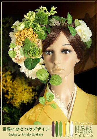 造花 ■ヘッドドレス・髪飾り【あす楽対応】 パーティー 結婚式 ウェディング 成人式 ブライダル シルクフラワー アートフラワー 写真撮り・お色直し