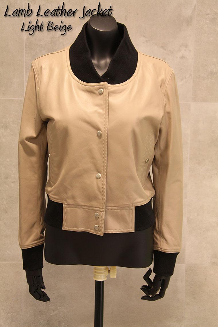 【OFF Price】 フロントスナップボタン ラムレザージャケット ライダースジャケット:竹原クロージング
