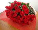 バラ50本の花束 送料無料4980円!100本のバラの花束・還暦祝い60本のばらにも調整OKお祝・誕生日に贈るバラ花束・指定日配達対応【あ…
