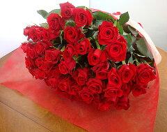 お誕生日・還暦・御祝フラワーギフトにバラの花束バラ50本の花束 送料無料4980円!100本のバラ...