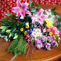 お正月は花いっぱ〜い♪暮れの切り花楽ちん福袋!