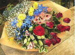 季節のお花50本ご家庭用やラッピング追加で50本の花束にも!新鮮なお花が50本も入った福袋ご卒...