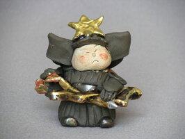 【節句/五月人形】【美濃焼(みのやき)】【インテリア】【置物】戦国武将/弓矢