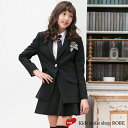 卒業式 スーツ 女の子 小学生 子供服 ブラックフォーマル ...
