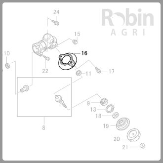 【ラビット/Rabbit】刈払機純正部品ガード[6218500200]_03