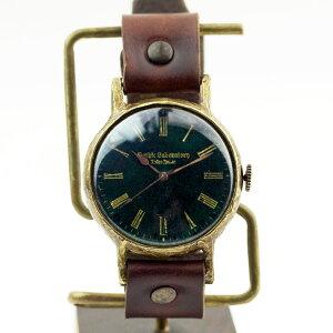 GothicLaboratoryアンティークな腕時計樹海L/レディース腕時計メンズハンドメイド手作り腕時計ヴィンテージビンテージ牛革クラシックゴシック/
