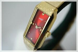 Vida+腕時計レディースかわいい〈レクタンギュラー〉(ヴィーダプラス)アンティークゴールド華奢ブレスレット人気チェーンベルトお誕生日プレゼント【送料無料】【RCP】