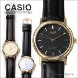 【海外モデル】CASIO(カシオ)アナログ腕時計[MTP-1095Q-9AMTP-1095Q-7AMTP-1095Q-1A]/レディース腕時計メンズ腕時計ユニセックス腕時計生活防水ブラックゴールドシルバーベーシックアナログレザー牛革大きい文字盤ボーイズサイズ/