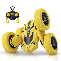 ラジコンカー子供オフロード人気速いラジコン360度回転両面走行四輪駆動ドリフトアクション室内室外レースミニ小さい小型車おもちゃ玩具ギフトラッピングロボットプレゼント誕生日Xmasキッズ男の子子どもこどもおすすめかっこいい送料無料