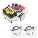 【ロボットキット】プログラミング教育用ロボット (セット) ビュートローバー ARM 赤外線セット [学習教材] 【ヴイストン Vstone】 1