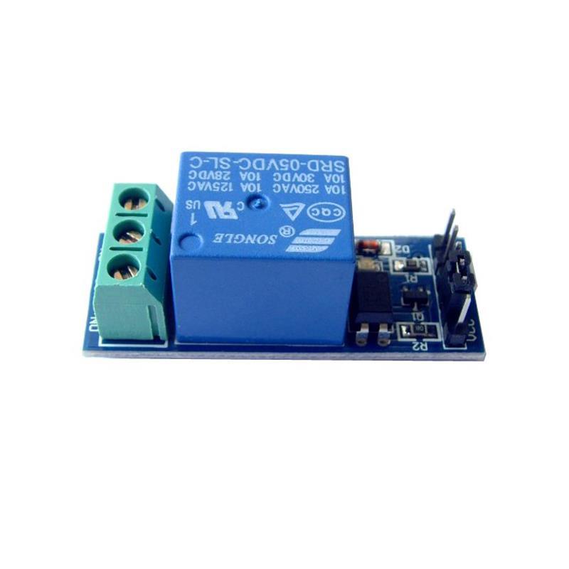 10 A 1 チャンネル Arduino 互換のリレーモジュール画像