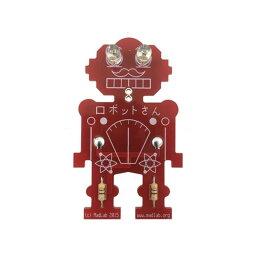 Vellemanミスターロボット電子はんだ付けキット