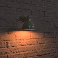 BENE-BレトロブラケットランプホワイトINDUSTRIALインダストリアルLED対応インテリア照明壁付照明壁掛け照明照明カフェ北欧壁ライトリビング屋外カフェ照明防雨ナチュラル)