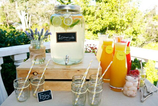 【楽天市場】yorkshire Mason Jar Drink Dispenserヨークシャーメイソンジャードリンク