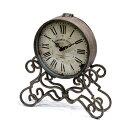 グレーシュ・アイアンクロック (BX-80) (置き時計・ディスプレイ雑貨・カフェ雑貨) ●+アン...