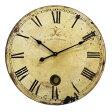 カフェ・ラージクロック  (BT-30)(壁掛け時計 ウォールクロック アンティーク 雑貨 大きい 振り子時計 ディスプレイ 店舗什器 大型 とけい 特大 古い時計 フランス フレンチ シャビー レトロ クラシック)