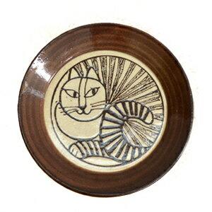 Lisa Larson リサ・ラーソン 益子の皿 ねこ(白)食器 お皿 リサラーソン アニマル 動物 しろねこ 白猫 ホワイト キャット プレート 陶器 ヴィンテージ風 北欧 スウェーデン