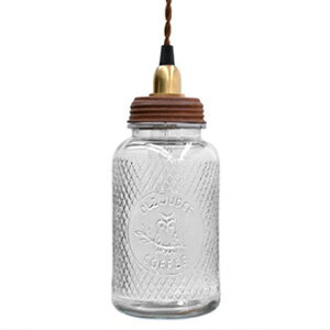 In The Bottle Lamp coffee (LED pendant lamp, インザボトル lamp, coffee, glass bottle, glass bottle, bottle, indirect lighting, pendant lights, antique, dining, living, cafe, design lighting, interior lighting, natural )