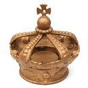 ■goodygrams■ KING CROWN アッシュトレイ・ゴールド (アイアン・王冠・ディスプレイ雑貨・...