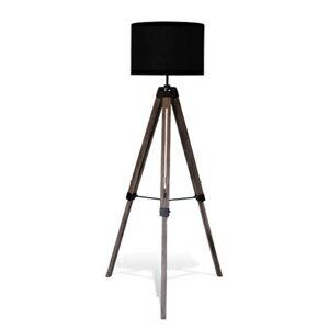 Vieri nova ビエリ ノバ ブラック(DI CLASSE,ディクラッセ,三脚フロアランプ,黒,イーゼル,フロアスタンドランプ,木製,間接照明,モダン,レトロ, デザイン照明,インテリア照明,三脚フロアライト,ビンテージ,ヴィンテージ,店舗照明,オシャレ):Rocca-clann