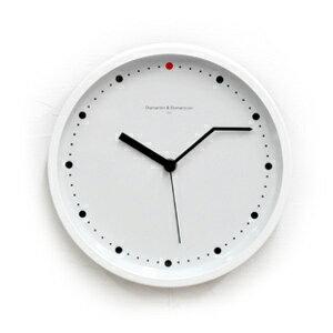 ON-TIME wall clock S white Diamantini & Domeniconi (booking)-+ art-