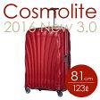サムソナイト コスモライト 3.0 81cm レッド Cosmolite V22-00-307
