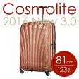 サムソナイト コスモライト3.0 スピナー 81cm コッパーブラッシュ Samsonite Cosmolite 3.0 Spinner V22-86-307 123L