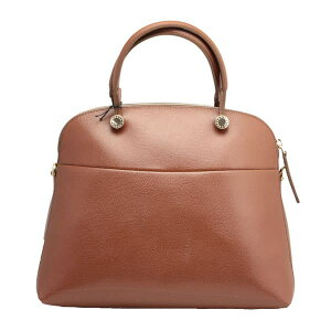 FURLA【PIPERMDOME】パイパー2WAYトートバッグ(ダークブラウン)BFK9/ARE/MNKGLACE/ARES