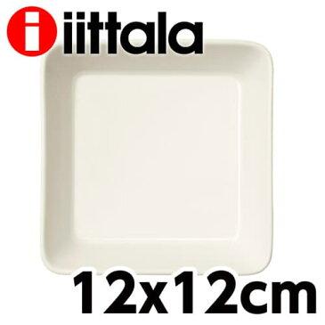 iittala イッタラ Teema ティーマ スクエアプレート 12×12cm ホワイト お皿 皿