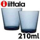 iittala イッタラ Kartio カルティオ タンブラー 210ml レイン 2個セット