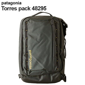 Patagoniaパタゴニア48295トレスパック25Lフォージグレー/テキスタイルグリーンTresPack