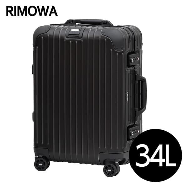 dd476016a7 リモワ RIMOWA トパーズ ステルス 34L ブラック TOPAS STEALTH キャビン マルチホイール スーツケース 924.53.01.4