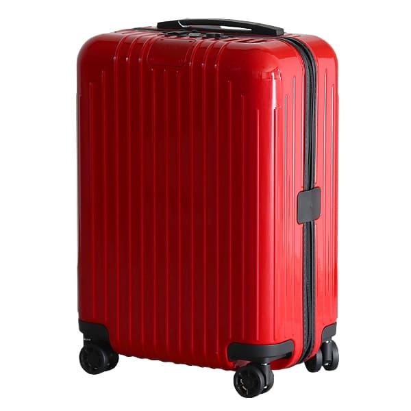 リモワ RIMOWA エッセンシャル ライト キャビン 37L グロスレッド ESSENTIAL Cabin スーツケース 823.53.65.4