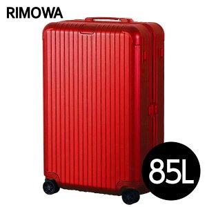 リモワ RIMOWA エッセンシャル チェックインL 85L グロスレッド ESSENTIAL Check-In L スーツケース 832.73.65.4