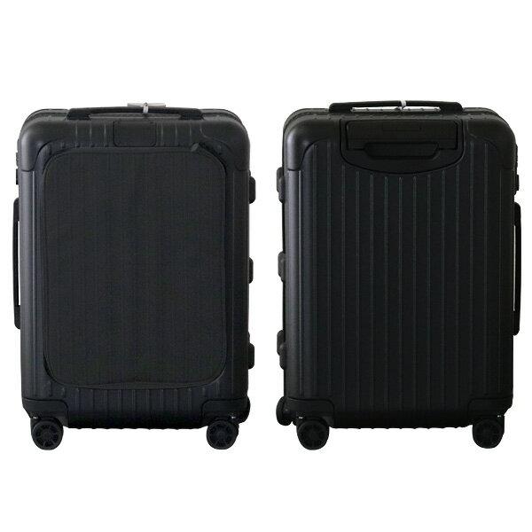 リモワ RIMOWA エッセンシャル スリーブ キャビン 37L マットブラック ESSENTIAL SLEEVE Cabin スーツケース 842.53.63.4
