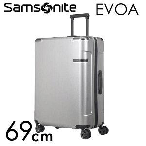 8f6aa2a37b 商品画像. ¥32,800. サムソナイト エヴォア スピナー 69cm ブラッシュドシルバー Samsonite ...