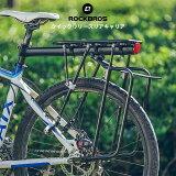 リアキャリアサイクルキャリアクイックリリースリアキャリア荷台自転車取り付け後付けロードバイクマウンテンバイククロスバイクリフレクター付きシートポスト固定サイクリングHJ1008-1