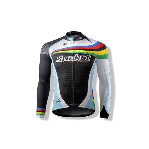 SPAKCT ジャージ ウェア 上着 長袖 サイクル スポーツ 登山SPAKCT サイクリング ロング ジャージ メンズ 長袖 コート