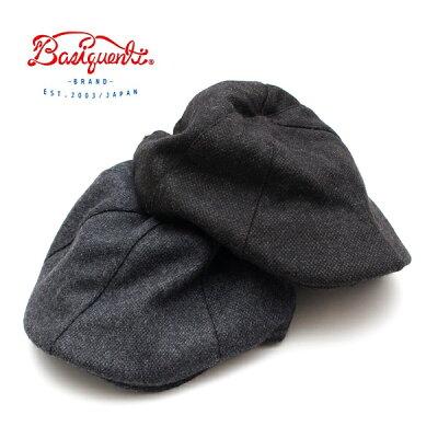 【送料無料】クラシックハンチング帽子メンズレディースブランドベーシックエンチBASIQUENTIリバーアップウールハンチングサイズ調節可上品おしゃれカジュアルアメカジトラッドルード綺麗めヴィンテージブラックブラウン黒茶色(09-bcnu11696)